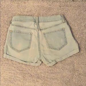 Old Navy Shorts - light wash, old navy boyfriend jean shorts